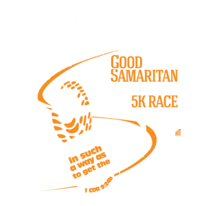 Good Samaritan 10th 5K Race Logo